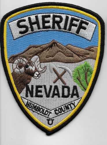 Humbolt County Sheriff State Nevada NV Scenic patch