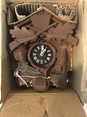 Vintage 1950/1960 Brand New Wooden German Cuckoo Clock