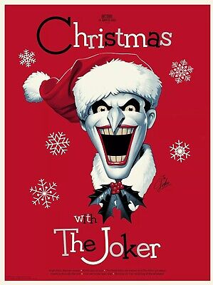 Christmas with the Joker Mondo Poster by PCC Batman Animated Series Variant ()