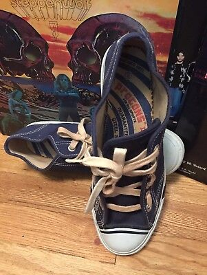 Vintage Procons' II Canvas Basketball Fashion Sneakers Navy Blue  Shoes Size 9