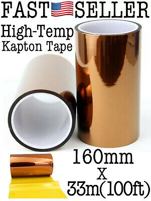 High Temperature Heat Resistant Polyimide Kapton Tape 3d Printers Soldering..