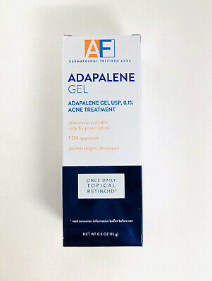 1 AcneFree Adapalene Gel Retinoid Acne Treatment 0.5oz Tube Acne Clearing Gel