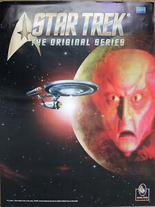 Superb Rare Star Trek Original Retro Vintage VHS IN-Store Promo Poster 84x60 cm