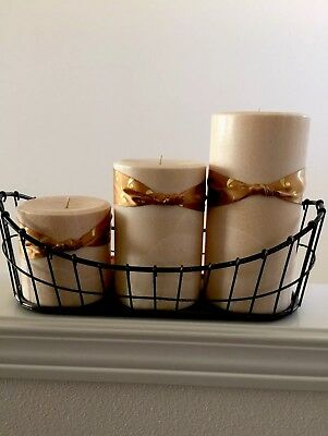 Iron Wire Candle Holder Set Durable Durable Candle Holder