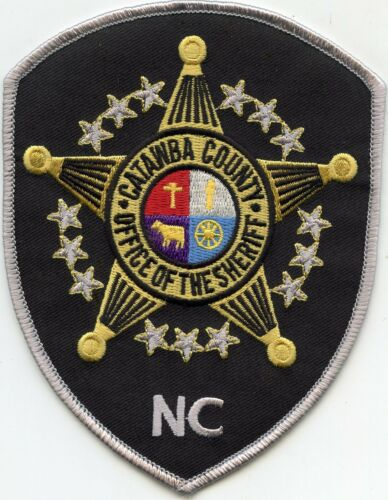 CATAWBA COUNTY NORTH CAROLINA NC SHERIFF POLICE PATCH
