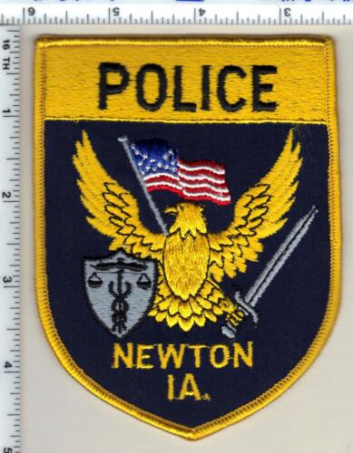 Newton Police (Iowa)  Shoulder Patch - new from 1990