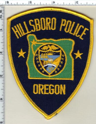 Hillsboro Police (Oregon) Shoulder Patch - new from 1989
