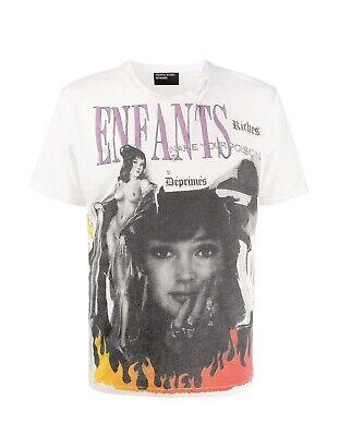 ENFANTS RICHES DÉPRIMÉS collage print T-shirt