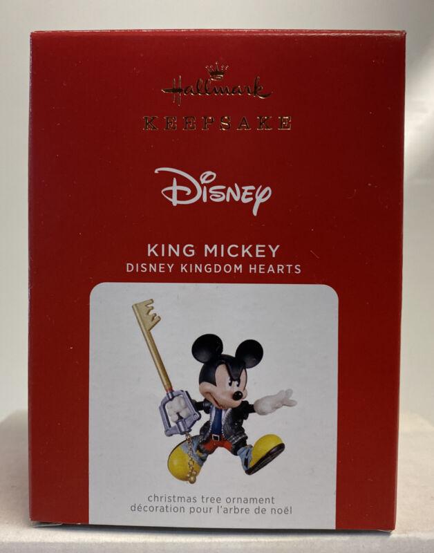 2021 Hallmark Keepsake Disney Kingdom Hearts King Mickey Ornament