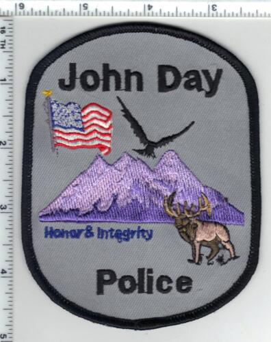 John Day Police (Oregon) Shoulder Patch - new from the 1980