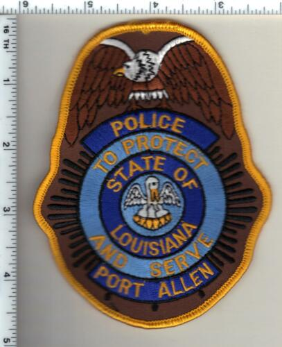 Port Allen Police (Louisiana)  Shoulder Patch - new from 1990