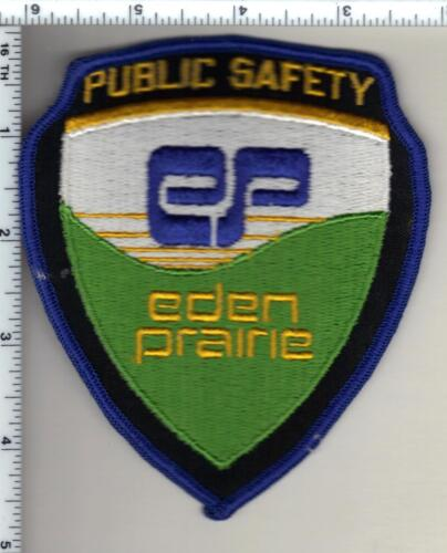 Eden Prairie Public Safety (Minnesota)  Shoulder Patch  - new from the 1980
