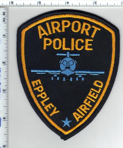 Eppley Airfield Airport Police (Nebraska) Shoulder Patch from the 1980