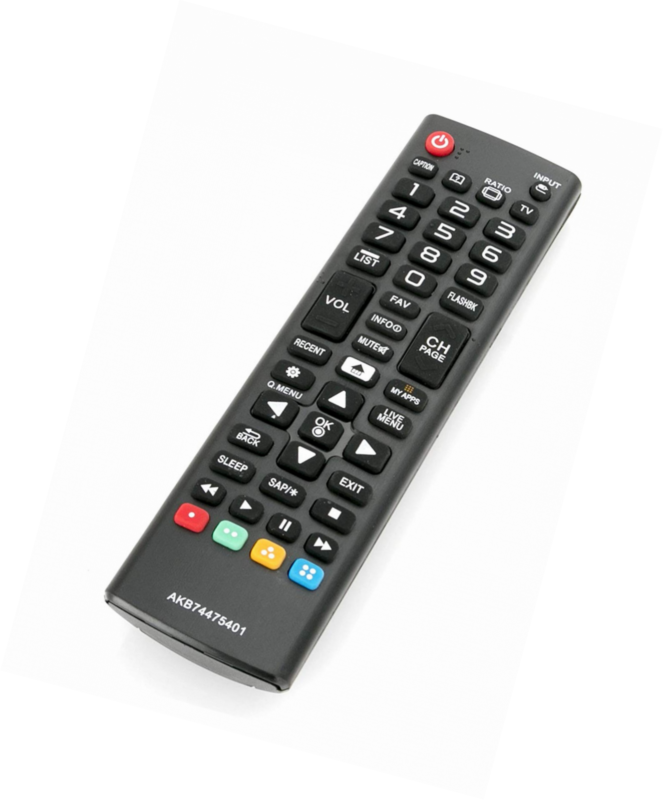 New AKB74475401 Replaced Remote fit for LG Smart TV 24LF4820