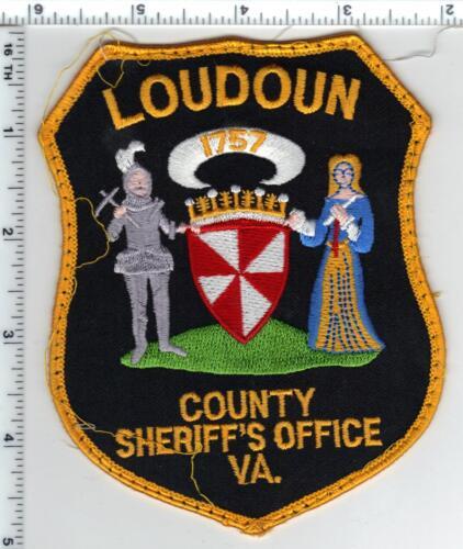 Loudoun County Sheriff (Virginia) Uniform Take-Off Shoulder Patch from 1980