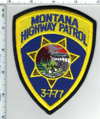 Montana Highway Patrol 5th Issue Shoulder Patch