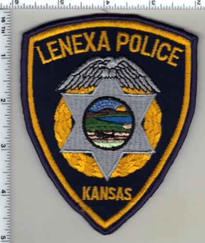 Lenexa Police (Kansas) Shoulder Patch - new from 1997