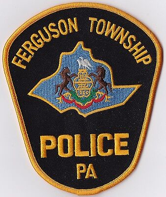 Ferguson TWP Police Patch Pennsylvania PA NEW!!
