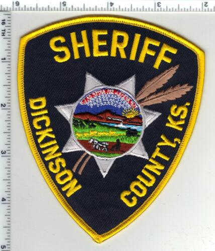 Dickinson County Sheriff (Kansas) 3rd Issue Shoulder Patch