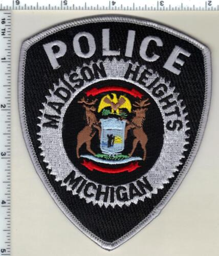 Madison Heights Police (Michigan)  Shoulder Patch  - new from 1992