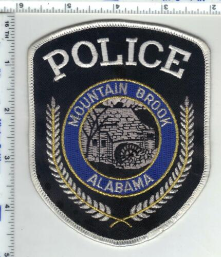 Mountain Brook Police (Alabama) 2nd Issue Shoulder Patch