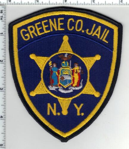 Greene County Jail (The Empire State) Shoulder Patch  from the 1980
