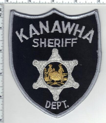 Kanawha Sheriff Dept (West Virginia) 4th Issue Gold Bullion Center Patch