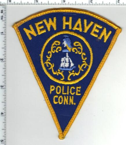 New Haven Police (Connecticut) Uniform Take-Off Shoulder Patch from the 1980
