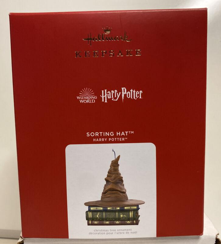 2021 Hallmark Keepsake Harry Potter Sorting Hat Magic Sound & Motion Ornament