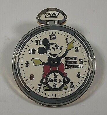 Disney Disneyland Mickey Mouse on Ingersoll Pocket Watch Pin