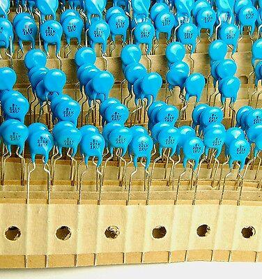 10pcs-- 221k 1kv 220pf High Voltage Ceramic Capacitors 1kv221k 221 221k1kv