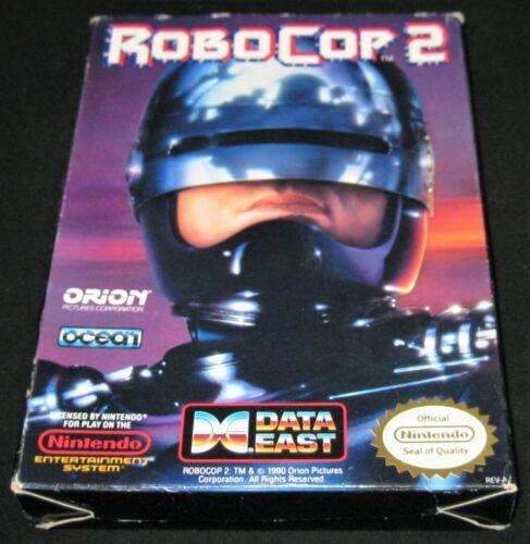 Robocop 2 - Box Only (Nintendo Entertainment System, NES) Authentic