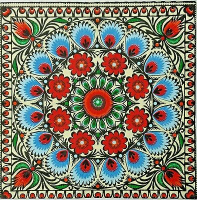 TILE MOSAIC MOROCCAN 2 individual LUNCH SIZE paper napkins for decoupage 3-ply