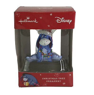 Hallmark Christmas Ornaments Disney Winnie the Pooh Eeyore With Lights Ornament