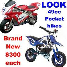 BRAND NEW DIRT BIKES & POCKET ROCKET from $300 Chandler Brisbane South East Preview