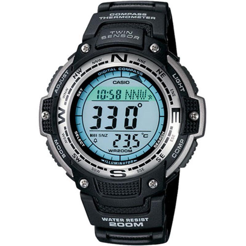 Casio Men's Digital Compass Twin Sensor Sport Watch Black SGW100-1V