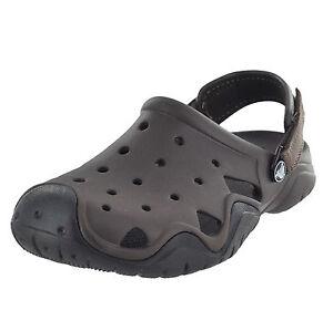 07ce9b4bd Crocs Men s Swiftwater Clogs Espresso black Sandals Shoes Sz 8 for ...