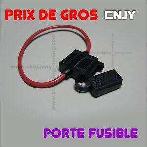 1 porte fusible isole pour fusible a broche pose sur le positif fuse non four - Porte fusible a broche ...