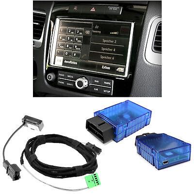 For Vw Touareg 7P Original Kufatec Handsfree Kit only Bluetooth + Micro