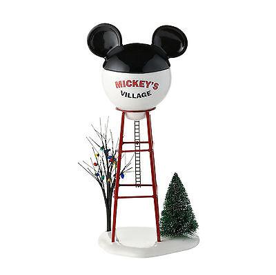 Disney Mickey's Village Water Tower Accessory 4028300 NEW 2015 Department 56 D56](Department 56 Halloween Village Disney)