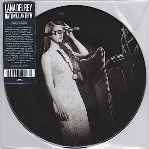 Lana-Del-Rey-National-Anthem-7-EU-Vinyl-45-Picture-Disc-New-Unplayed
