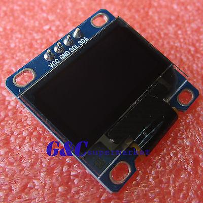 "White 3-5V 0.96"" I2C Serial 128X64 OLED LCD LED Display Module for Arduino M94"