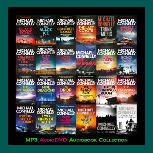 The HARRY BOSCH Series By Michael Connelly  (30 MP3 Audiobook Collection)