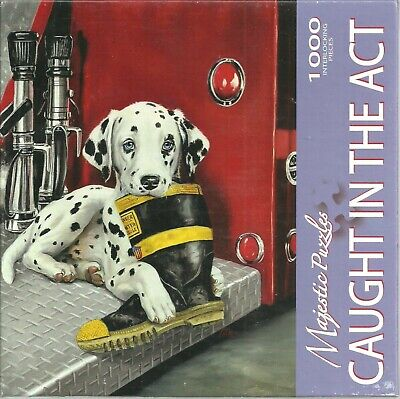 CAUGHT IN THE ACT BY LINDA PICKEN - NEW - MAJESTIC PUZZLE