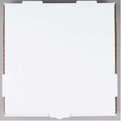 White Corrugated Plain Pizza Bakery Box Hotel Resto 50-pack 12 X 12 X 1 34