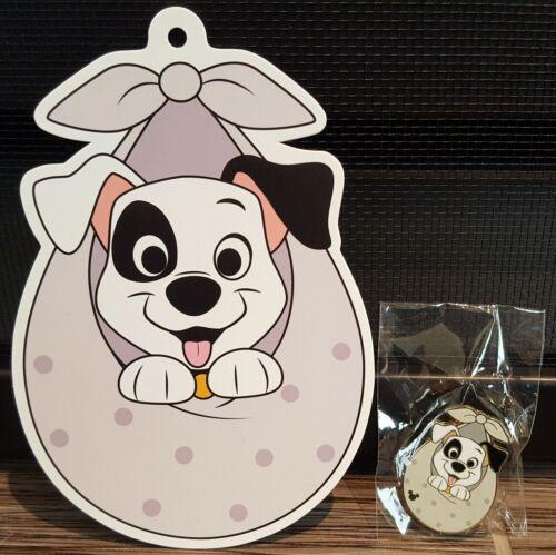 Hong Kong Disneyland Karibuni Marketplace 101 Dalmatians Patch Hidden Mickey Pin