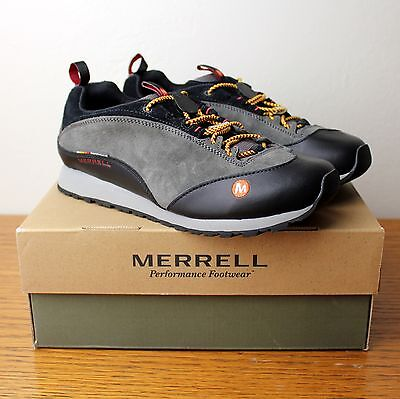 New Merrill Kids Edge Hiking Trail Running Shoes Sneakers Charcoal Grey Us 5 5