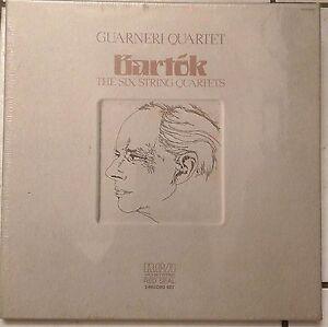 GUARNERI-QUARTET-Bartok-6-String-Quartets-3-LP-box-SEALED-Soyer-Dalley-Steinhart