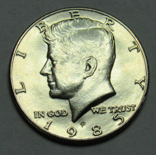 1985 P Kennedy Half Dollar in BU condition