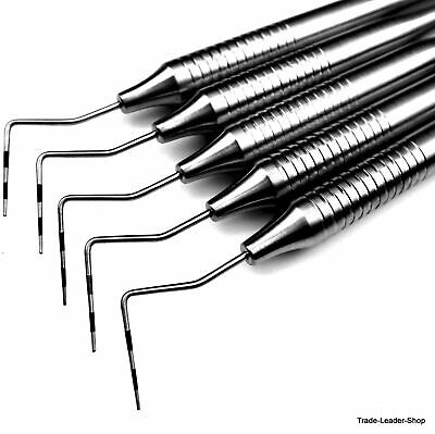 5x Paro Dental Probe CP12 without Ball End Measuring Colour-Coded Tests